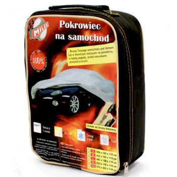 "Тент для автомобиля седан ""L"" 4,83см-1,78см-1,20см Milex Polyester"