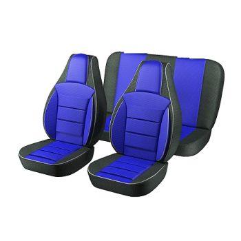 Универсальные чехлы на сиденья Синие, (Пилот)