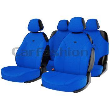 "Комплект майки чехлы на сиденья ""BINGO"", синий (CarFashion)"