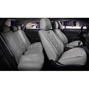 Универсальные чехлы на сиденья Start plus, серый / серый / серый (CarFashion)