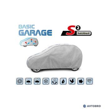 """Тент автомобильный для хетчбэка """"S2"""" 3.20см-3.32см """"Basik Garage"""""""